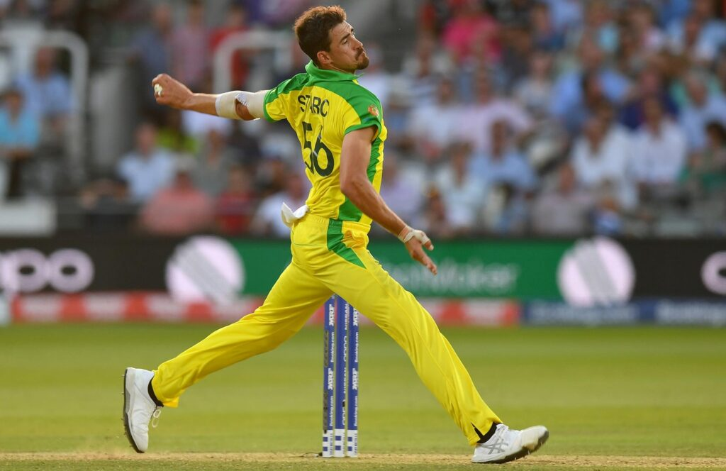 Mitchell Starc amongst top 10 fastest bowlers in the world.