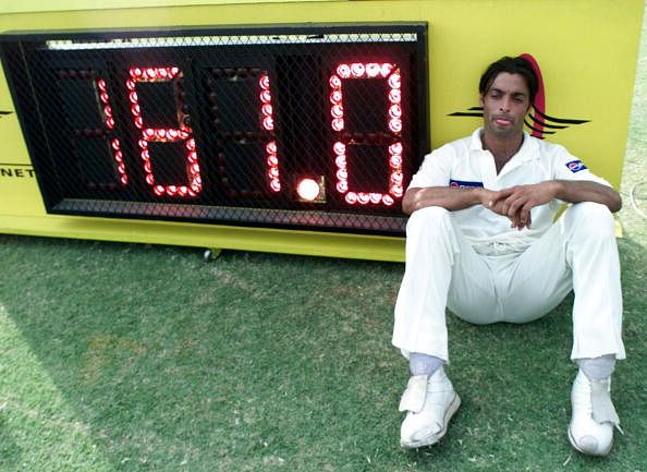 Shoaib Akhtar amongst top 10 fastest bowlers in the world.