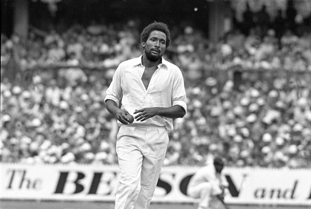 Andy Roberts amongst top 10 fastest bowlers in the world.