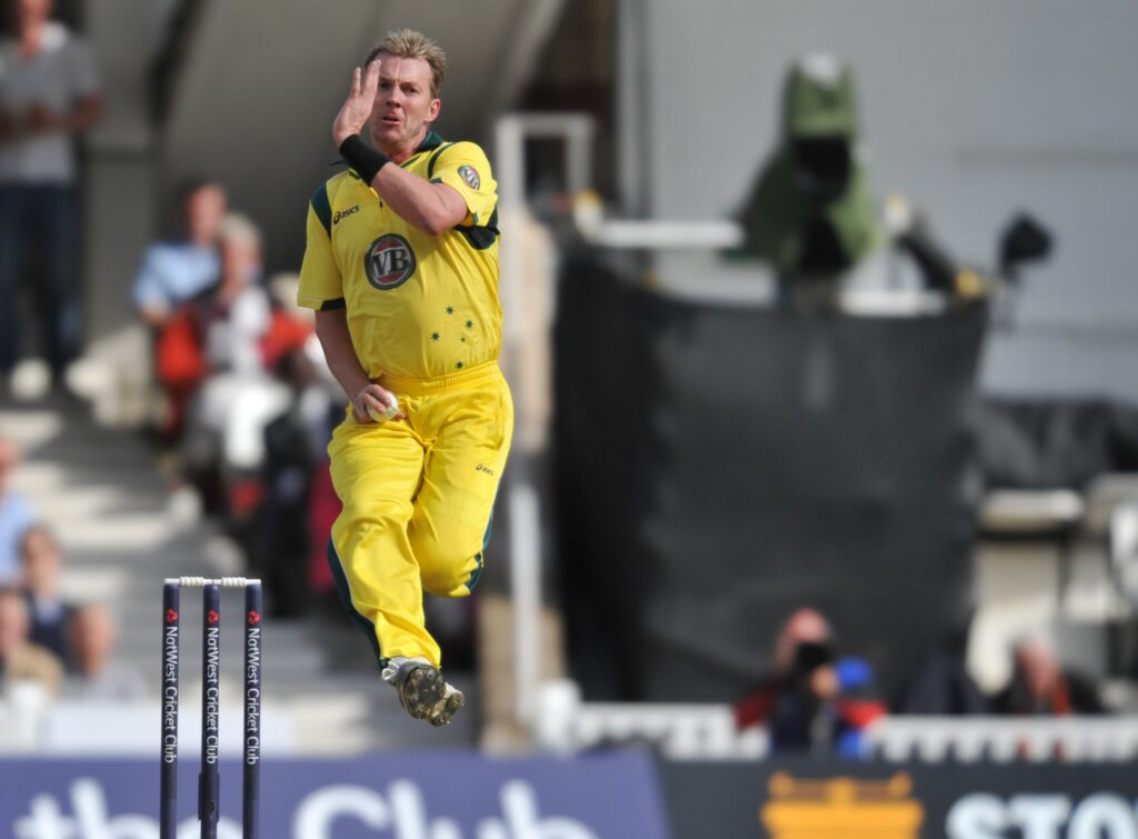 Brett Lee amongst top 10 fastest bowlers in the world.
