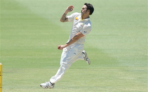 Mitchell Johnson amongst top 10 fastest bowlers in the world.